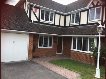 EasyRoommate UK - 1 x Double Room To Rent In Fabulous Home , Maidstone - £550 pcm