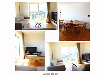 EasyRoommate UK - Double Room in a stunning furnished penthouse (East Village E20), Stratford - £830 pcm