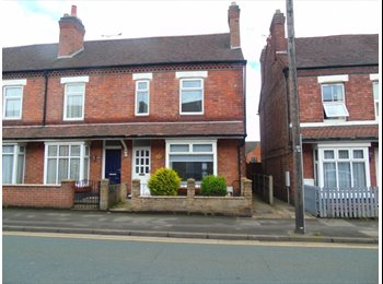 EasyRoommate UK -  HIGH STANDARD ROOM LET WITH ALL BILLS INC,FULLY REFURBISHED DOUBLE BEDROOM, Burton-on-Trent - £390 pcm