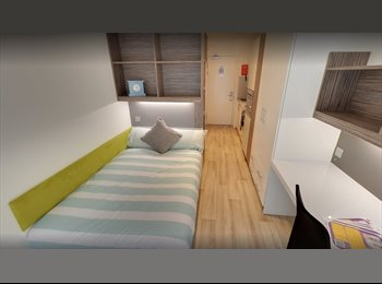 EasyRoommate UK - Studio Apartment Newcaslte 1 Derwent Students Accommodation, Newcastle upon Tyne - £556 pcm