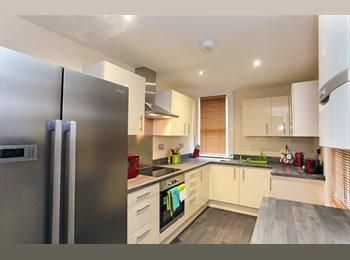 EasyRoommate UK - Large bedroom left in sociable prof house share :), Lower Wortley - £415 pcm