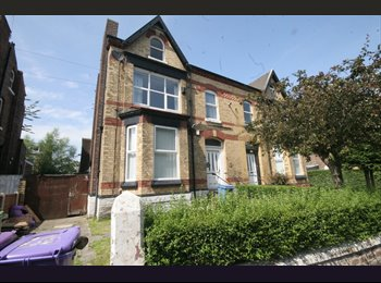 EasyRoommate UK - Lovely large double room on the park, Tuebrook - £260 pcm
