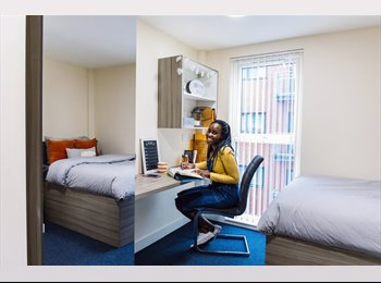 EasyRoommate UK - Student Ensuite Room, The Cube Bolton, Bolton - £348 pcm