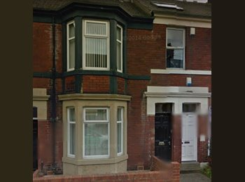 EasyRoommate UK - Double furnished room in student house , Byker - £377 pcm