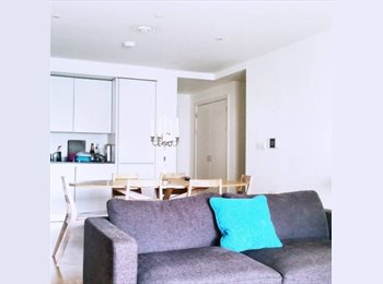 EasyRoommate UK - Modern & Bright ensuite double room available now in the East Village, Stratford - £870 pcm