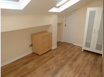EasyRoommate UK - Light, double bedroom in well maintained spacious four bedroom flat within detached house., Eccup - £300 pcm
