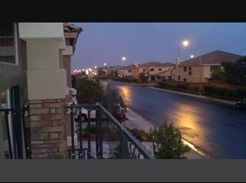 EasyRoommate US - LUXURY-All stone tile, Furnished/Pool/Balcony/ near Strip SW, Enterprise - $575 pm