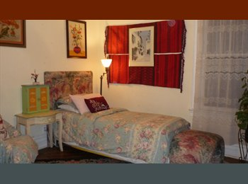 EasyRoommate US - large bright rooms/share kitchens/baths/balcony/backyard garden/victorian older house, Borough Park - $1,200 pm