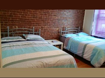 EasyRoommate US - LARGE DOUBLE ROOM AVAILABLE IN MANHATTAN - WASHINGTON HEIGHTS, Hudson Heights - $1,280 pm