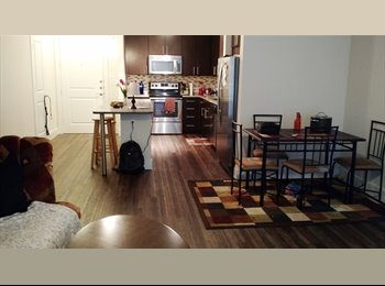 EasyRoommate US - 1 Bdr/1 Bath for Rent in a 2bdr apt in Midtown/Montrose, Midtown - $950 pm