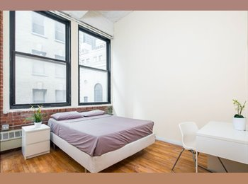 EasyRoommate US - Bright bedroom available in nice area in the FIDI, Financial District - $1,800 pm