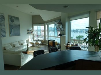 EasyRoommate US - Private BR in luxury 4 story penthouse , Marina del Rey - $1,750 pm