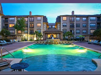 EasyRoommate US - Sublet by Medical City of Dallas $1022 Rent + Utilities, North Dallas - $1,022 pm