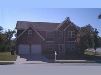 EasyRoommate US - 2 BR 1 BA 1 Garage in a 4/4 single family home in SW Atlanta , Princeton Lakes - $1,200 pm