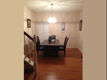 EasyRoommate US - master bedrooom for rent fully furnished . Private Bathroom, Stafford - $800 pm