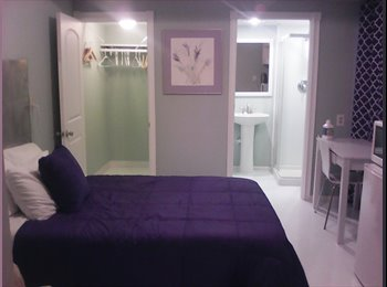 EasyRoommate US - $670 MO. GREAT FURNISHED ROOM & BATH FOR RENT.   PRIVATE ENTRANCE.  , Greater Northdale - $670 pm