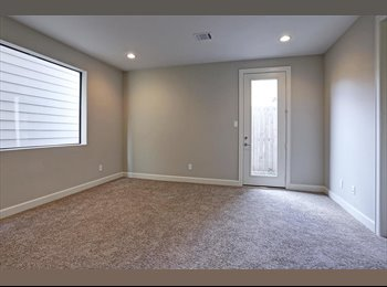 EasyRoommate US - New Construction Bedroom Available for rent!, Midtown - $850 pm