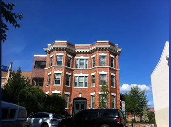 EasyRoommate US - Master BR/BA in CoHi. Your own bed + bath (with tub!) No Deposit!, Columbia Heights - $1,275 pm