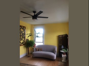 EasyRoommate US - Adams Morgan: Enchanting and Sunny Top Floor Master Bedroom (SW), Lanier Heights - $1,400 pm