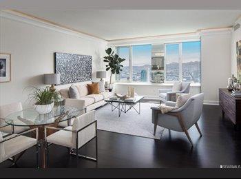 EasyRoommate US - 2 bedroom 2 bethroom  Condo $1500 , Financial District - $1,500 pm