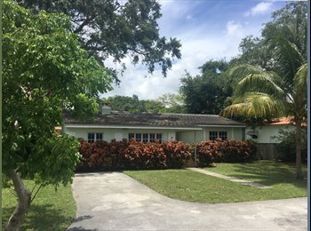 EasyRoommate US - Seeking Roommate for 3br HOUSE in very Central Location !!, Miami Shores - $800 pm