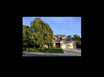 EasyRoommate US - Room for rent in three bedroom house , Murrieta - $575 pm