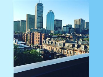EasyRoommate US - South End sublet with Huge Roof Deck!, South End - $1,400 pm
