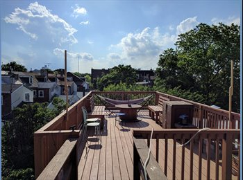 EasyRoommate US - Amazing room with deck for rent in Northern Liberties, Poplar - $750 pm