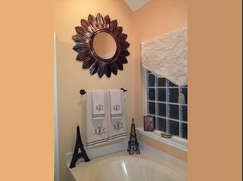 EasyRoommate US - Beautiful bedroom with plantation blinds. very large closet and ceiling fan - can be furnished or no, Montgomery - $575 pm
