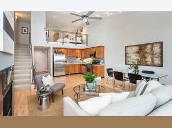 EasyRoommate US - Spacious loft with views & light! - $2,700, South of Market - $2,700 pm