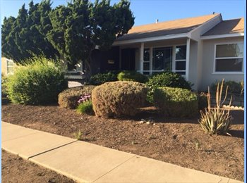 EasyRoommate US - ROOMMATE WANTED FOR GREAT HOME IN ALLIED GARDENS, Del Cerro - $1,200 pm