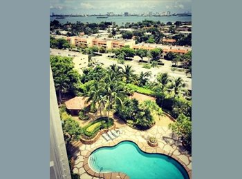 EasyRoommate US - Great View, Beautiful Amenties, @TowersOfQuayside, Biscayne Park - $900 pm