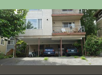 EasyRoommate US - 2 bedroom in quiet gay friendly 4 plex by the water on edge of SPU campus, Fremont - $950 pm