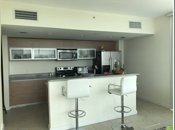 EasyRoommate US - Semi Furnished room for rent in great building near Airport, Little Havana - $1,000 pm