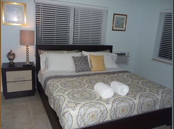EasyRoommate US - MONTHLY-Brand New 1 Bedroom Apt Just Steps from Beach Free Wifi/Dish, North Bay Village - $1,100 pm