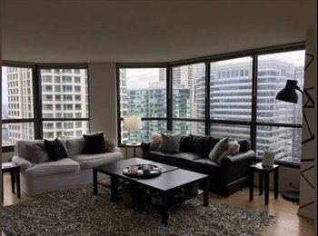 EasyRoommate US - River North Abode with a View , Streeterville - $1,350 pm
