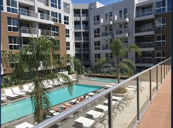 EasyRoommate US - Room mate wanted luxury 2 bed 2 bath in West Hollywood, Melrose - $2,080 pm