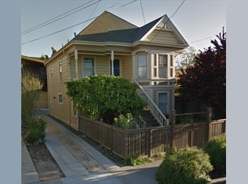 EasyRoommate US - 2 Private Rooms + Private Bath, share large Victorian in Oakland w/ 1 person, Gaskill - $2,050 pm