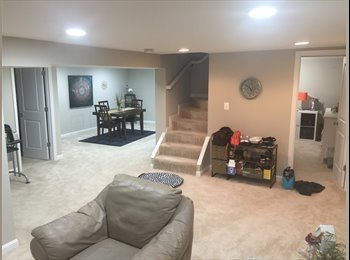 EasyRoommate US - ENTIRE BASEMENT FOR RENT IN ARLINGTON (15 min from DC), Shirlington - $1,400 pm
