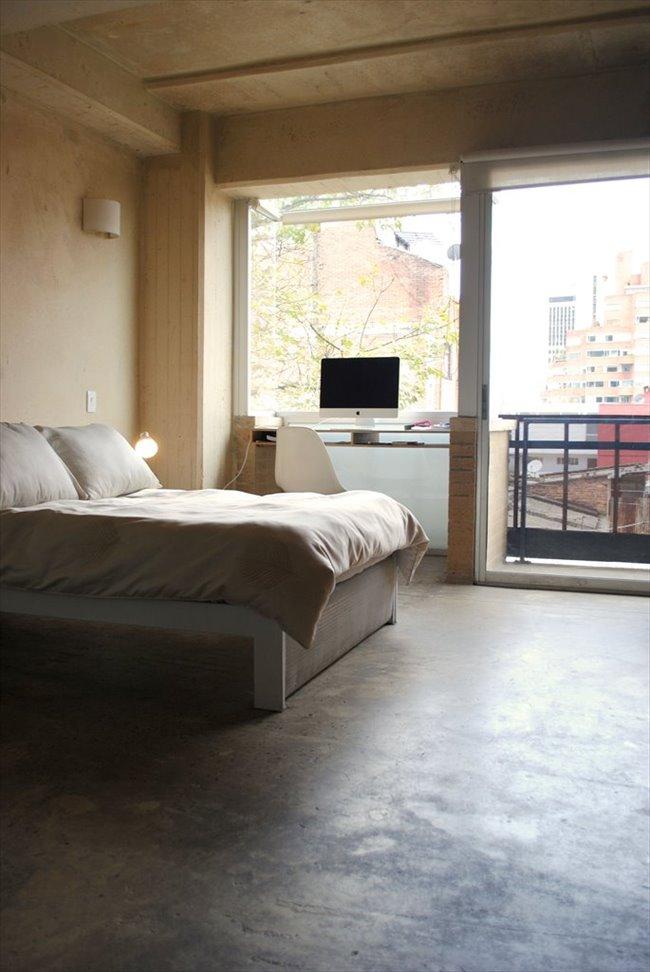 Habitacion en arriendo en Bogotá - Aparta-Estudio Privado de Lujo en La Macarena   CompartoApto - Image 4