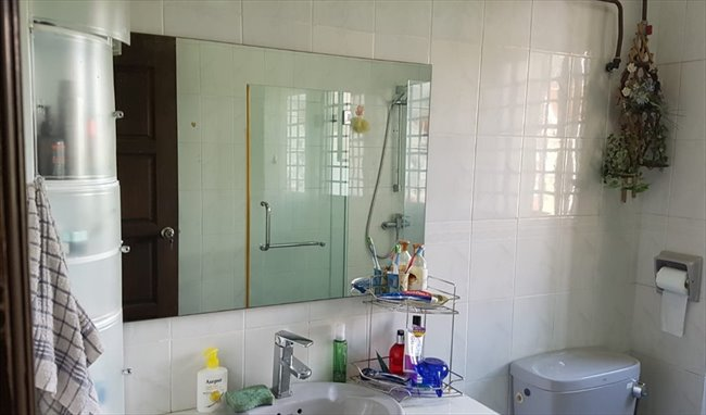 Room for rent in Eunos - A Large Fully Furnished Bedroom for Rent with Queen Size Bed &  bathroom - Image 4