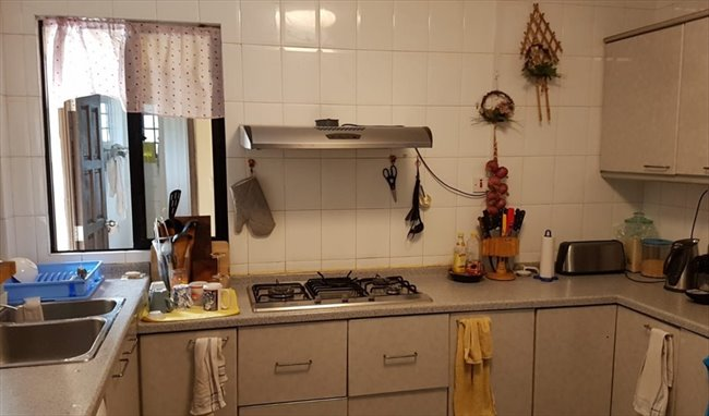 Room for rent in Eunos - A Large Fully Furnished Bedroom for Rent with Queen Size Bed &  bathroom - Image 5