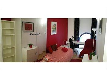 EasyWG AT - 3 freie Einzelzimmer + 2 Doppelzimmer in großer WG + 130m² Gemeinschaftsbereich, Wien - 430 € pm