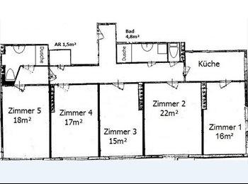 EasyWG AT - 129m² WG # ruhige Seitengasse # aber direkt bei U3!!! # 2 freie Zimmer!, Wien - 440 € pm