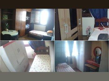 EasyQuarto BR - ***Quartos Individuais p/ moças  no Centro de BH***, Belo Horizonte - R$ 500 Por mês