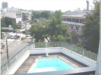 EasyQuarto BR - Quarto para aluguel com cama de Casal., Itanhangá - R$ 1.400 Por mês