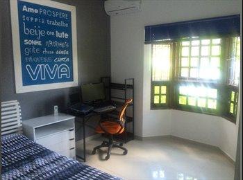 EasyQuarto BR - Aluga-se 1 quarto mobiliado para estudante - JACAREÍ/SP , Jacareí - R$ 550 Por mês