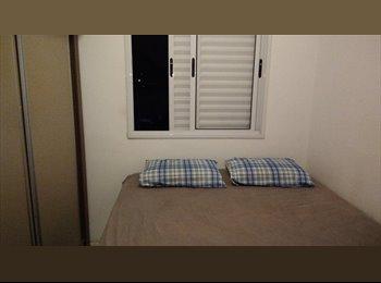 EasyQuarto BR - Vaga em apartamento (15 min. da Berrini/Vila Olímpia/Barra Funda), Osasco - R$ 900 Por mês
