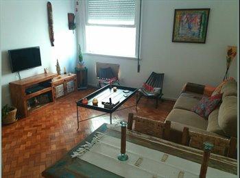EasyQuarto BR - Alugo quarto na Zona Sul Humaita, Humaitá - R$ 1.150 Por mês