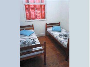 EasyQuarto BR - Em Taubaté quarto individual ou duplo, com serviços, mobiliado, Taubaté - R$ 800 Por mês